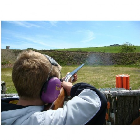 Clay Pigeon Shooting Minsterley, Shropshire, Shropshire