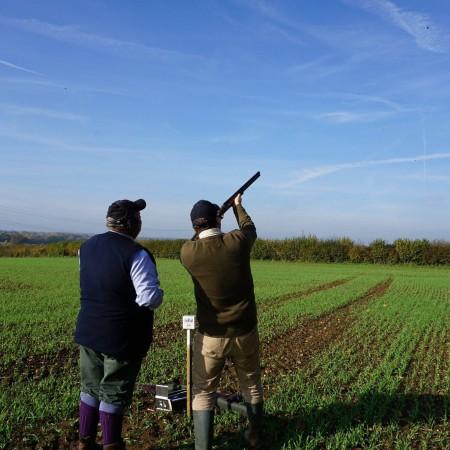 Clay Pigeon Shooting Markyate, Hertfordshire, Hertfordshire