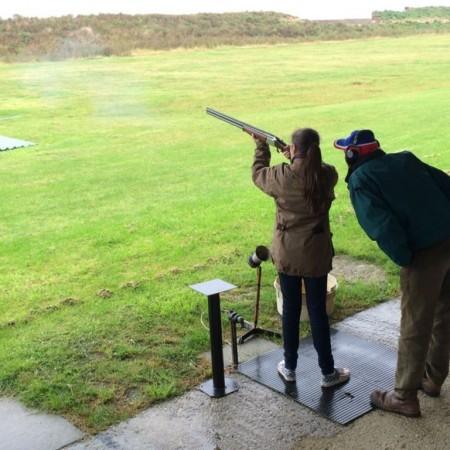 Clay Pigeon Shooting Royston, Hertfordshire, Hertfordshire