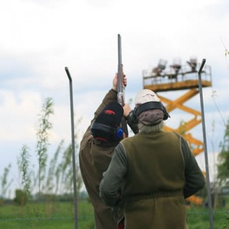 Clay Pigeon Shooting Rodney Stoke, Somerset, Somerset
