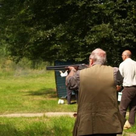 Clay Pigeon Shooting Thornicombe, Dorset, Dorset