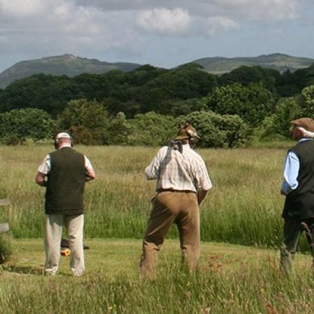 Clay Pigeon Shooting Pwllheli, Gwynedd, Gwynedd