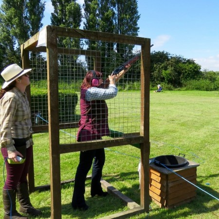 Clay Pigeon Shooting Deeside, Clwyd, Flintshire