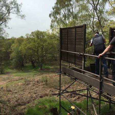 Clay Pigeon Shooting Hodnet, Shropshire, Shropshire
