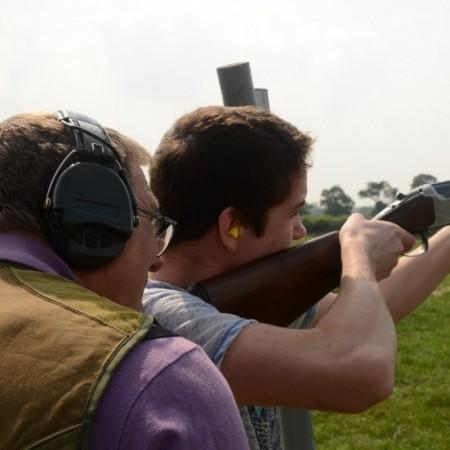 Clay Pigeon Shooting Sturminster Newton, Dorset