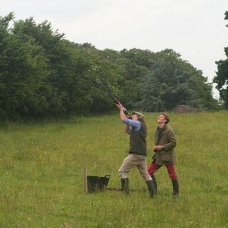 Clay Pigeon Shooting Stathe, Somerset, Somerset