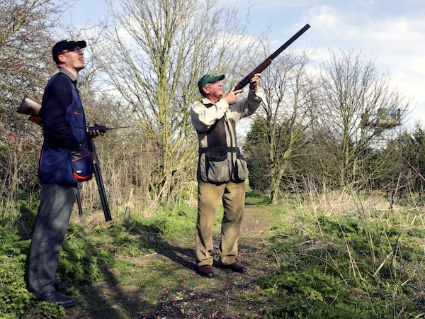 Clay Pigeon Shooting Exeter, Devon, Devon