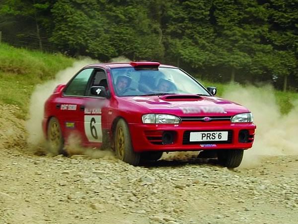 Rally Driving Knighton, Powys, Powys