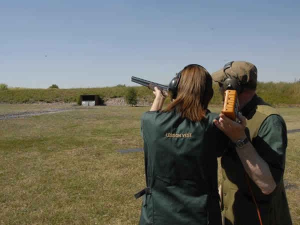 Clay Pigeon Shooting Masham, North Yorkshire
