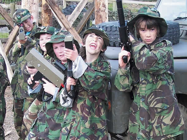 Indoor Paintball Ipswich