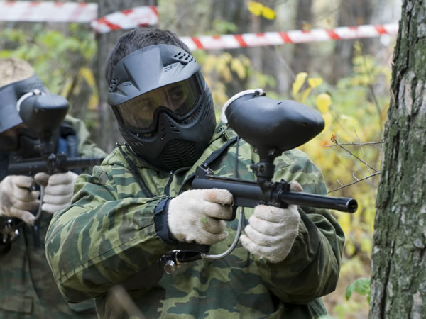 Paintball Exeter, Stoke Woods, Devon
