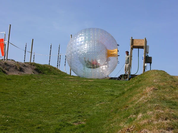 Zorbing Moneymore, Northern Ireland