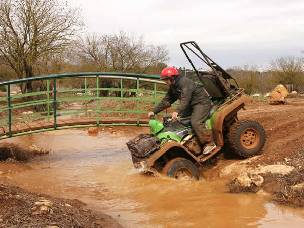 Quad Biking Kentchurch, Powys