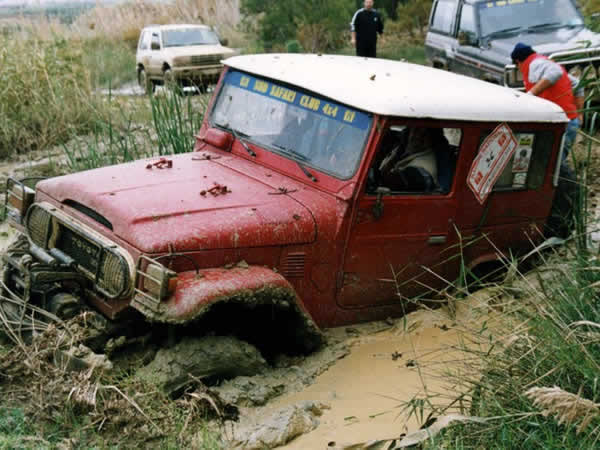 4x4 Off Roading Taff's Well, Cardiff, Gwent