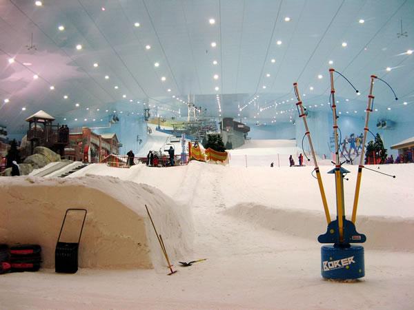 Skiing Newmilns, Ayrshire