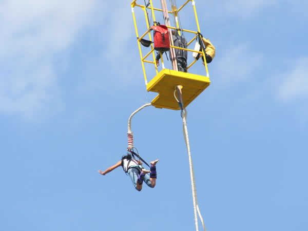 Bungee Jumping Brighton, Suffolk