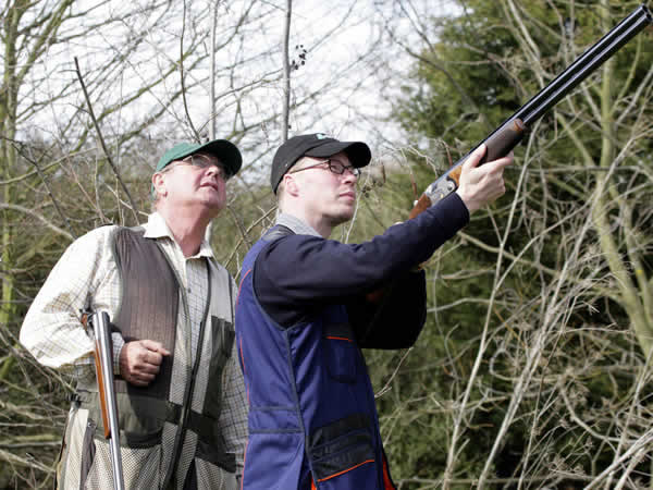 Clay Pigeon Shooting West Linton, Scottish Borders, Peeblesshire