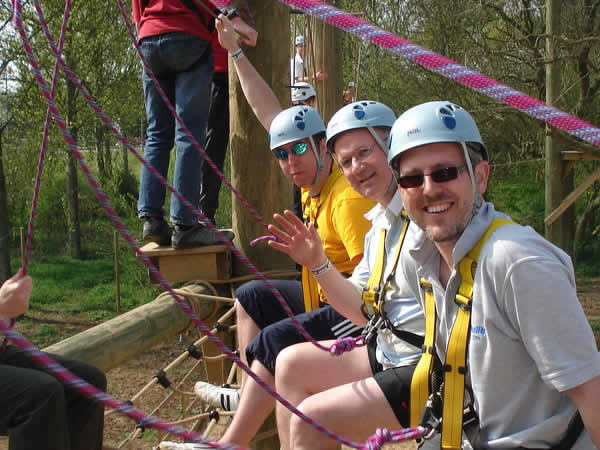 High Ropes Course Frodsham, Cheshire, Cheshire
